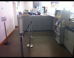 Büro KOL-E-8: Schalter (Höhe: 109 cm).